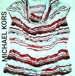 Like New MICHAEL KORS Plus Size Cowl Neck Blouse